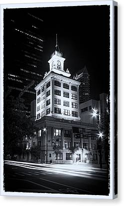Tampa's Old City Hall Canvas Print by Marvin Spates