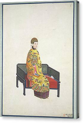 Tang Empress Canvas Print by British Library