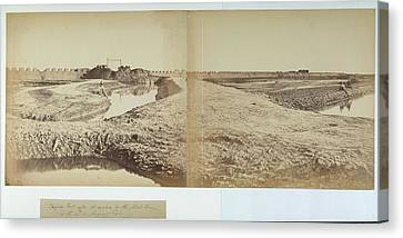 Tang-ku Fort Canvas Print by British Library