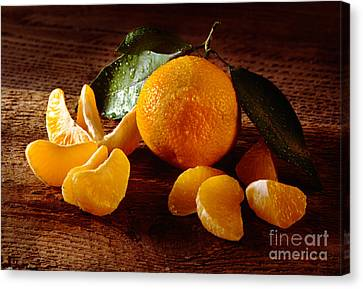 Tangerine Canvas Print by Iris Richardson