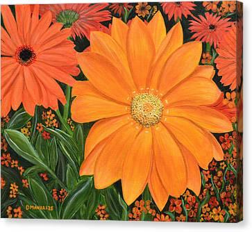 Tangerine Punch Canvas Print