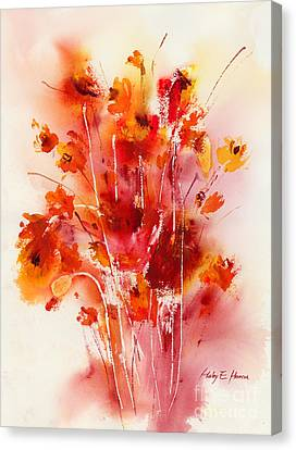 Tangerine Tango Canvas Print by Hailey E Herrera