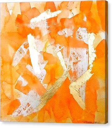 Tangerine Tango Canvas Print by Roleen  Senic