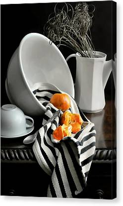 Tangerines Canvas Print by Diana Angstadt