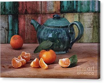 Tangerines Canvas Print