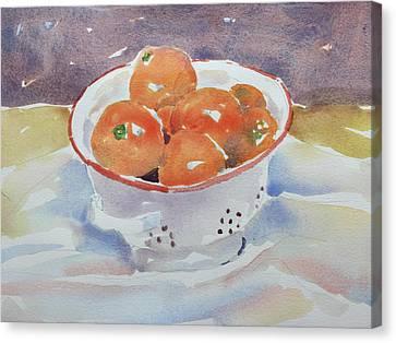 Tangerines Canvas Print by Owen Hunt