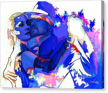 Tango Argentino - Pride And Devotion Canvas Print