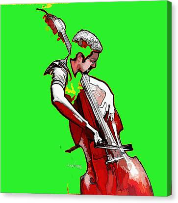 Tango Argentino - The Musician Canvas Print