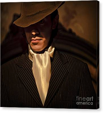 Canvas Print featuring the photograph Tango - El Hombre by Michel Verhoef