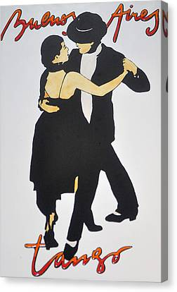 Tango In Buenos Aires Canvas Print