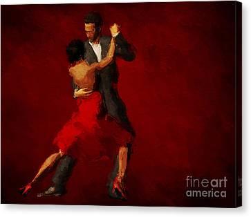 Tango Canvas Print by John Edwards