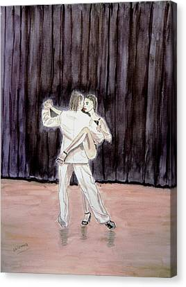 Tango Passion. Canvas Print