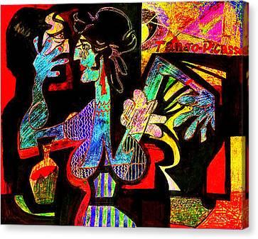 Tango Picasso-ii Canvas Print by Dean Gleisberg
