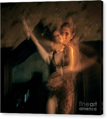 Canvas Print featuring the photograph Tango - The Motion by Michel Verhoef