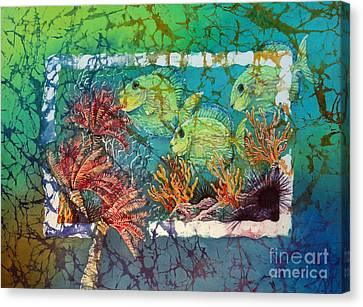 Tangs Trio Canvas Print by Sue Duda