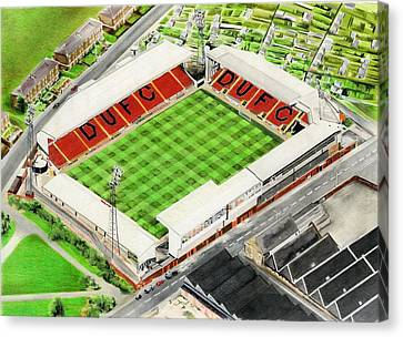 Tannadice Park - Dundee United Fc Canvas Print by Brian Casey