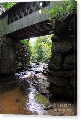 Tannery Hill Bridge Canvas Print