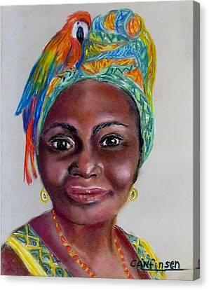 Tansey's Pride Canvas Print by Carol Allen Anfinsen