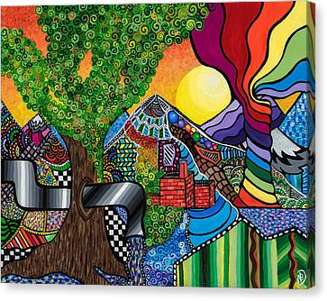 Tantalizing Tree Canvas Print