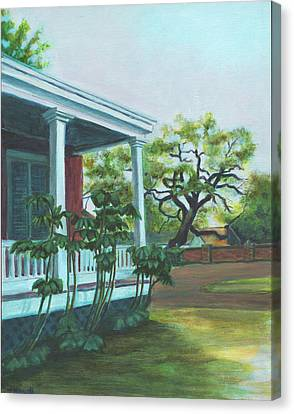 Tante Huppe Inn Canvas Print by Ellen Howell