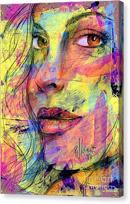 Tanya Canvas Print by P J Lewis