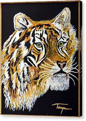 Tanyas Tiger......... Canvas Print