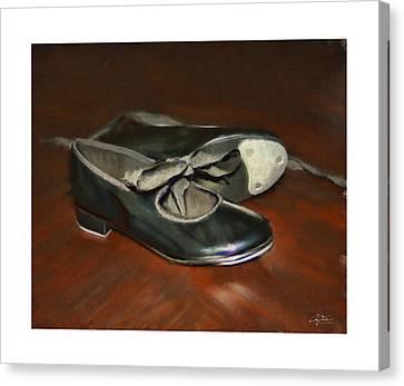 Tap Dance Practice Canvas Print by Craig Tinder