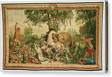 Tapestry Le Cheval Rayé From Les Anciennes Indes Series Canvas Print by Litz Collection