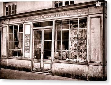 Tapissier Decorateur Canvas Print by Olivier Le Queinec