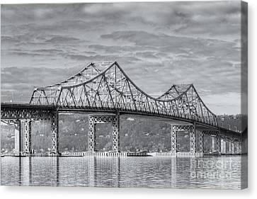 Tappan Zee Bridge Iv Canvas Print by Clarence Holmes
