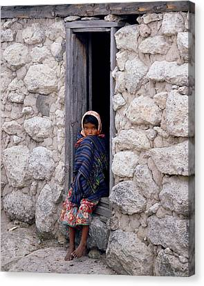 Tarahumara Child Canvas Print
