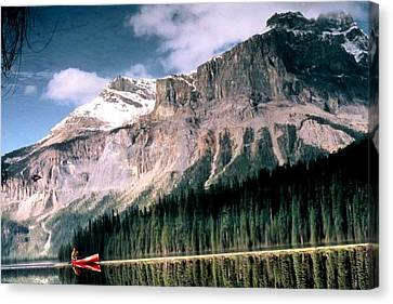 Tranquility...emerald Lake Canada Canvas Print
