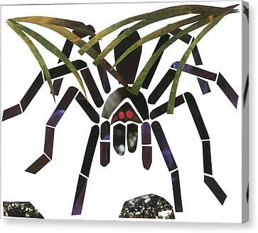 Tarantula Canvas Print by Earl ContehMorgan