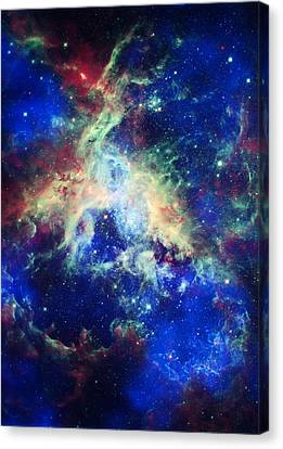 Tarantula Nebula 4 Canvas Print by Jennifer Rondinelli Reilly - Fine Art Photography