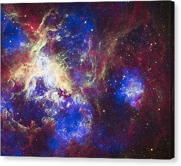 Alien Planet Canvas Print - Tarantula Nebula by Adam Romanowicz