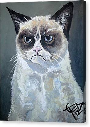 Tard - Grumpy Cat Canvas Print