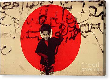 Target Canvas Print by Laila Shawa