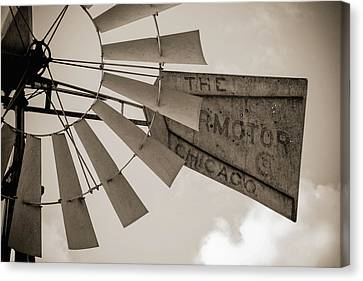 Canvas Print featuring the photograph Target Practice by Amber Kresge