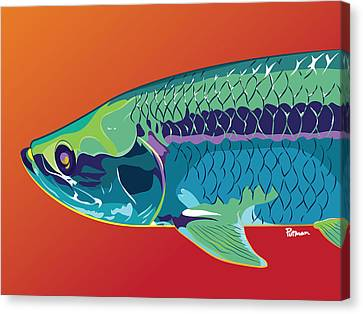 Tarpon Colors Canvas Print