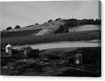 Tarquinia Countryside Canvas Print