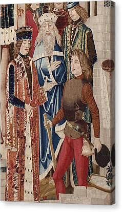 Tarquinius Priscus. Ca. 1475. History Canvas Print by Everett