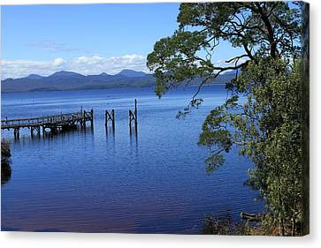 Tasmanian Stillness All Profits Go To Hospice Of The Calumet Area Canvas Print