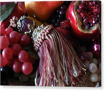 Tassel With Fruit Canvas Print
