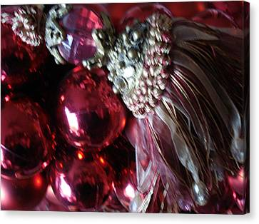Tassel With Red Ornaments Canvas Print