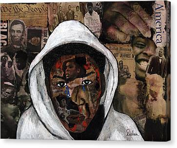 Taste Of Freedom 2 Canvas Print by Delvon