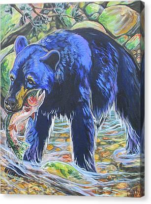 Taste The Rainbow Canvas Print by Jenn Cunningham