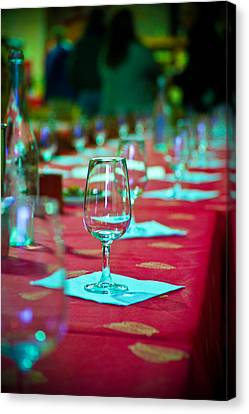 Tasting In Red Canvas Print by Kent Nancollas