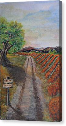 Tasting Room Canvas Print by Dixie Adams