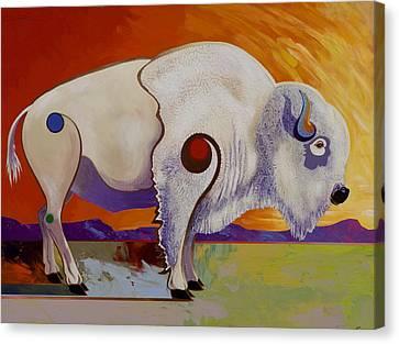 Tatanka Ska  Canvas Print by Bob Coonts