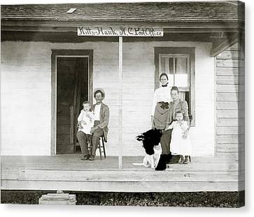 Tate Family Canvas Print by Library Of Congress